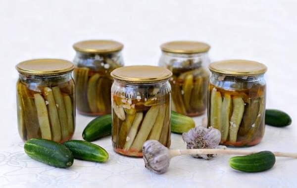 рецепт огурцов, приготовленных в собственном соку